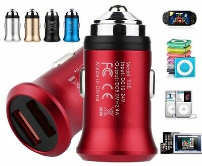 Dual USB Speedy Fast Car Charger 2.4amps For iPhone And Android.