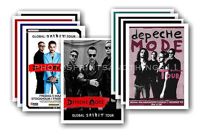DEPECHE MODE  - promotional posters - collection of 10 postcards # 1