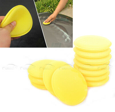 12PCS New Car Waxing Polish Foam Sponge Wax Applicator Cleaning Detailing Pads