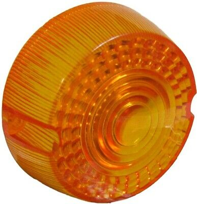Indicator Lens Front L/H Amber for 1975 Suzuki A 100 M