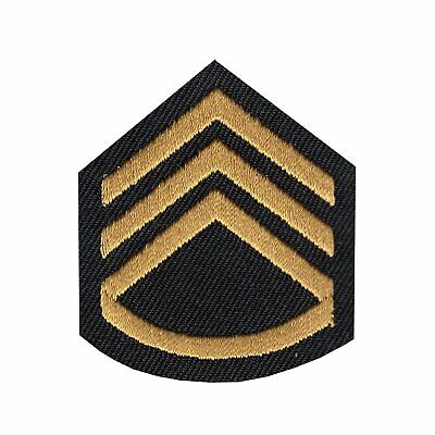 "Biker Military 5809D C27 US ARMY MASTER SERGEANT 3/"" x 5.5/"" iron on patch"