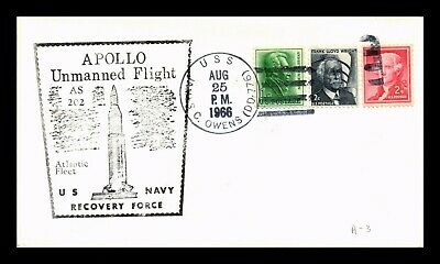 DR JIM STAMPS Us Apollo 15 Navy Recovery Space Event Cover