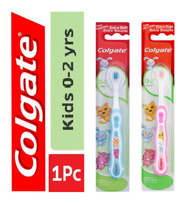 1x Colgate kids EXTRA SOFT EXTRA SOUPLE 0-2 years Toothbrushes