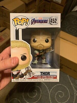 FUNKO Pop Marvel AVENGERS ENDGAME THOR 452 Mint Authentic
