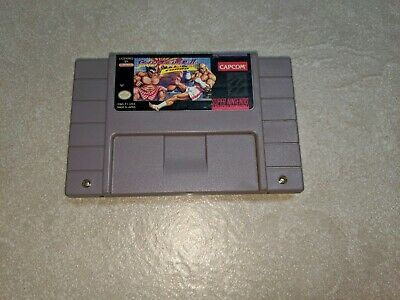 Street Fighter II Turbo (Super Nintendo Entertainment System) Tested, Authentic