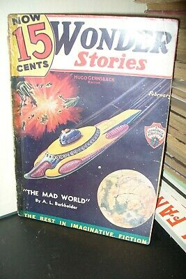 Wonder Stories Us Pulp Edition Feb, 1936 [1 Issues]