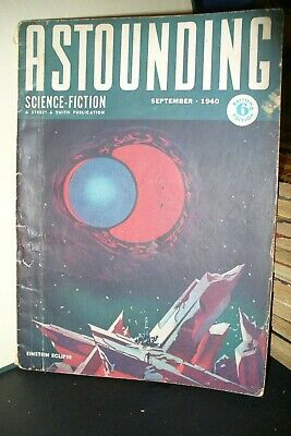 Astounding Uk Pulp Magazine Sept & Oct 1940