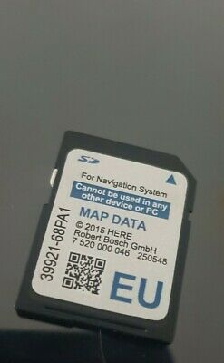 Suzuki Slda 39921-68Pa1 Sd Card Map Europe  Sx4 S-Cross, Vitara, Swift Genuine