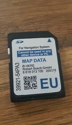 Suzuki Slda 39921-54Pa3 Sd Card Map Europe  Sx4 S-Cross, Vitara, Swift Genuine