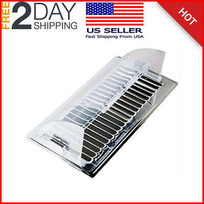 4 Pack Air Vent Heat Cold Deflector Wall Floor Register Vent Magnetic Cover New