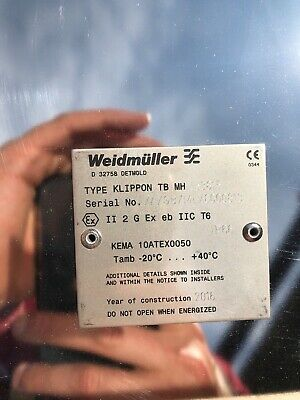 Weidmuller Klippon TB MH 453815 Junction Box