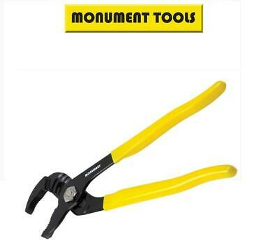 "Monument 250mm 10"" Japanese Spring Action Waterpump PVC Grips Pliers 2920E"