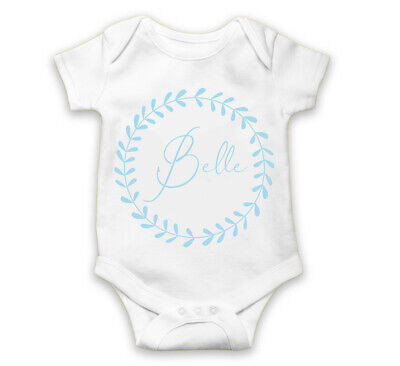 Personalized baby name bodysuit Baby boy or girl gift