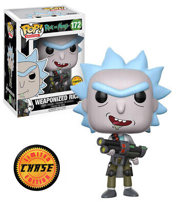 Funko Pop Animation: Rick and Morty Weaponized Rick Chase Limited Edition #12439