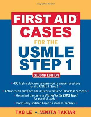 """First Aid"""" Cases for the USMLE Step 1: Second Edition (F... by Le, Tao Paperback"""
