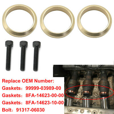 Copper Exhaust Gasket For Yamaha Snowmobile Nytro RS Vector APEX - 99999-03989