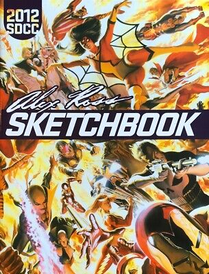 ALEX ROSS rare NEW SDCC 2012 Sketchbook UNSIGNED 32 Pgs MARVEL 70s Exclusive NM!