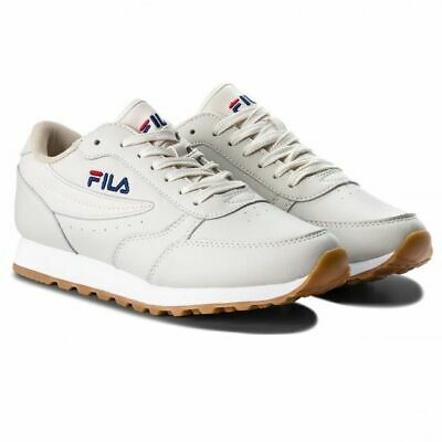 SCARPE SNEAKERS DONNA Fila Orbit Jogger Low 1010310 00R Turtledove Pelle Ai