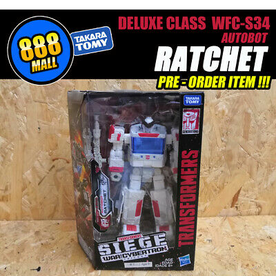 PRE ORDER Hasbro TRANSFORMER War For Cybertron:Siege WFC-S34 Autobot Ratchet