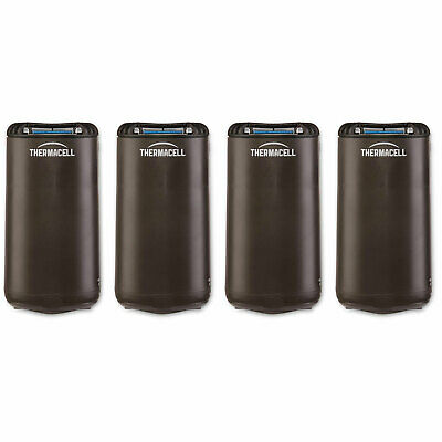 Thermacell Outdoor Patio & Camping Mosquito Insect Repellent, Graphite (4 Pack)