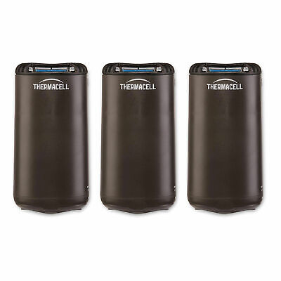 Thermacell Outdoor Patio & Camping Mosquito Insect Repellent, Graphite (3 Pack)