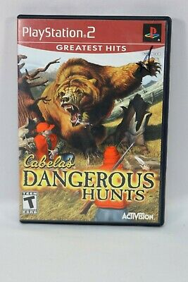 Cabela's Dangerous Hunts (Sony PlayStation 2, 2003) PS2 No Manual
