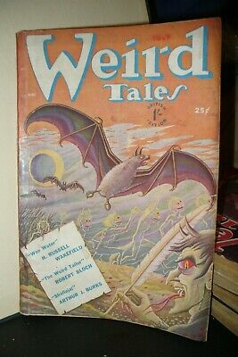 Weird Tales Uk Pulp Magazine July 1950