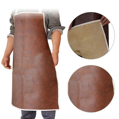 Welder Welding Protective Gear Leather L 97cm Apron Safety Workwear Blacksmith