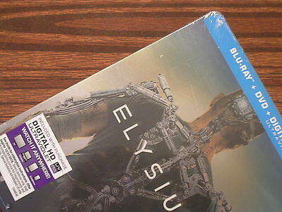 ELYSIUM 4k Remastered blu-ray/DVD Limited Steelbook Edition (Target Exclusive!)
