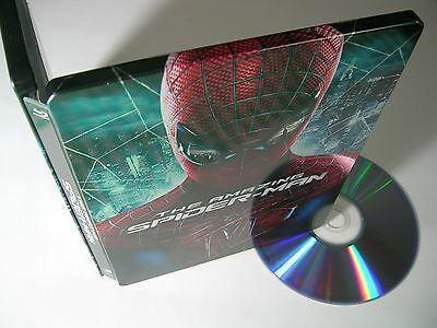 THE AMAZING SPIDER-MAN 3D   Limited Steelbook Edition ( Best Buy exclusive!!! )