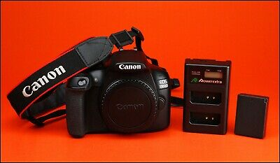 CANON EOS 1300D DSLR Camera ,Battery, & Charger, Full Working Order 3,113  Shots