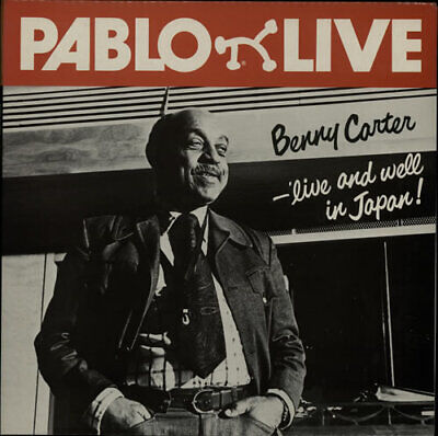 Benny Carter vinyl LP album record Live And Well In Japan UK 2308216 PABLO