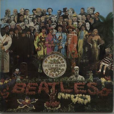 Beatles Sgt. Pepper's - 1 Box - EX UK vinyl LP album record PCS7027 PARLOPHONE