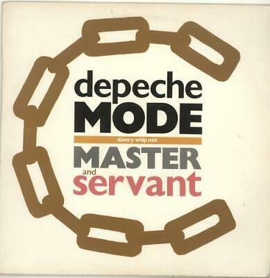 "Depeche Mode Master & Servant 12"" vinyl single record (Maxi) UK 12BONG6 MUTE"