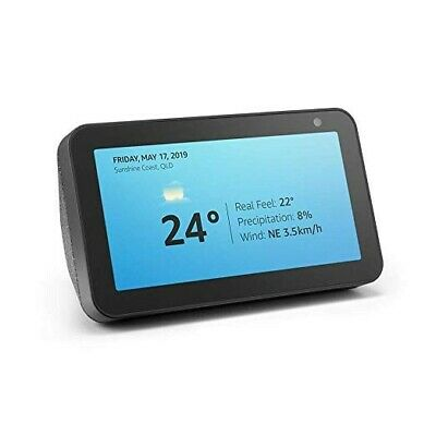Amazon Echo Show 5 Charcoal Fabric 2019 Home Controller Hub, voice Assistant GPS