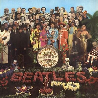 Beatles vinyl LP album record Sgt. Pepper's - Pathé UK PCS7027 PARLOPHONE 1973