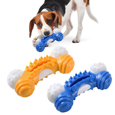 Dogs Chew Toys Aggressive Chewer Indestructible Dogs Toys Tough Rubber Bone Toys