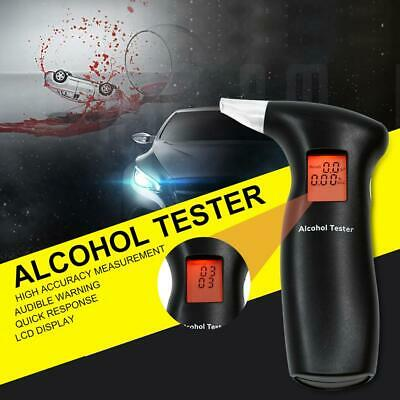 AU! Portable Digital LCD Alcohol Breath Tester Analyzer Backlight Breathalyzer