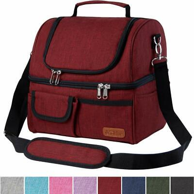 Portable Insulation Bag Outdoor Travel Picnic School Lunch Storage Bags M5BD