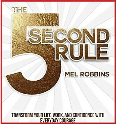 The 5 second rule Transform your life by Mel Robbins (audiobook,Fast e-Delivery)