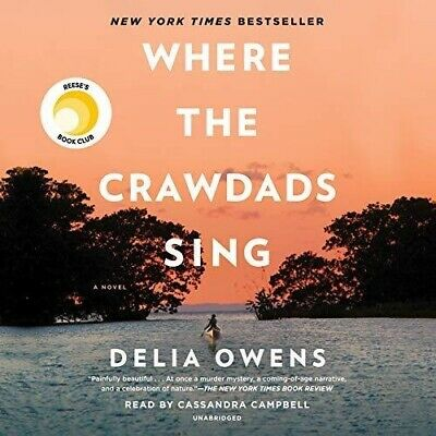 Where the Crawdads Sing By Della Owens (audiobook, Fast e-Delivery)