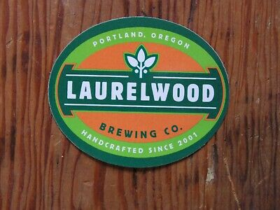 Laurelwood Brewing Co. Sticker ~NEW! Craft Beer Brew Logo Brewery Decal~