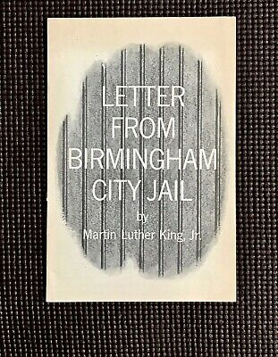 "Rare 1963 Edition ""Letter from Birmingham City Jail"" Martin Luther King Jr ADSC"