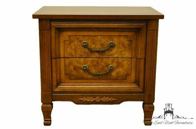 "DIXIE FURNITURE Italian Provincial 26"" Two-Drawer Nightstand / Commode 147-62..."