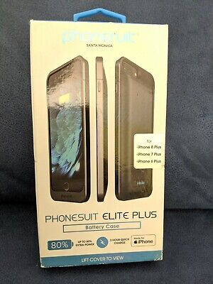 more photos 69496 bb552 BRAND NEW SEALED Phonesuit Elite 100% Battery Case iPhone 8 7 6s 6 ...