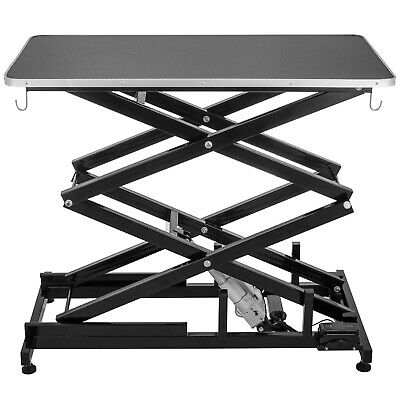 Electric Lifting Pet Dog Grooming Table 440Lbs Wear resistant Heavy Duty Metal🐕