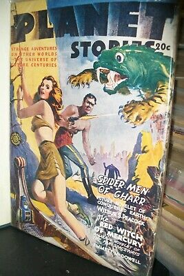 Planet Stories Pulp Magazine  Summer 1945