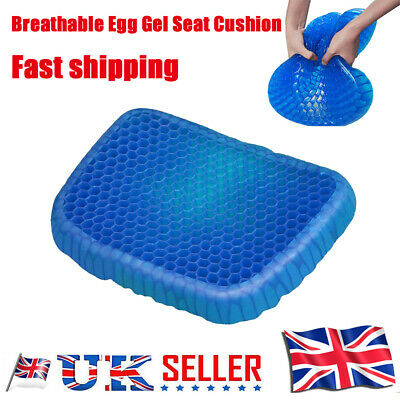 Breathable Egg Sitting Gel Flexing Cushion Seat Pillow Back Support Chair Pad