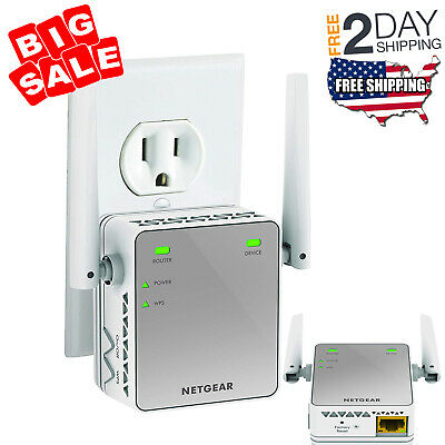 Powerful Wireless WiFi Internet Range Extender Booster Router Increase Signal