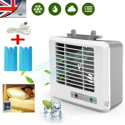 Portable Mini Air Conditioner Water Cooling Fan Artic Air Cooler Humidifier UK !